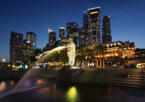 The Singapore Merlion - World Travel Packages