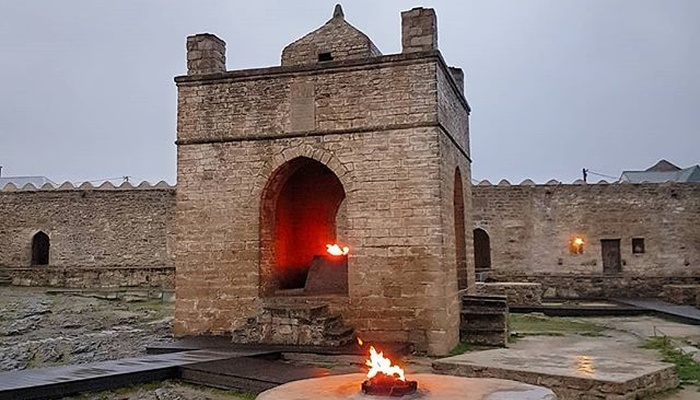 Ateshgah the fire temple of Azerbaijan