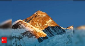 Nepal to reopen Everest to climbers despite coronavirus case rise - Times of India