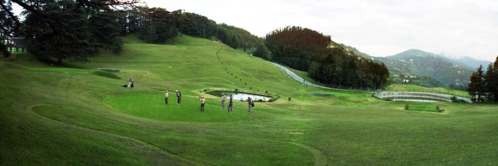 Golf Course Naldehra - World Travel Packages